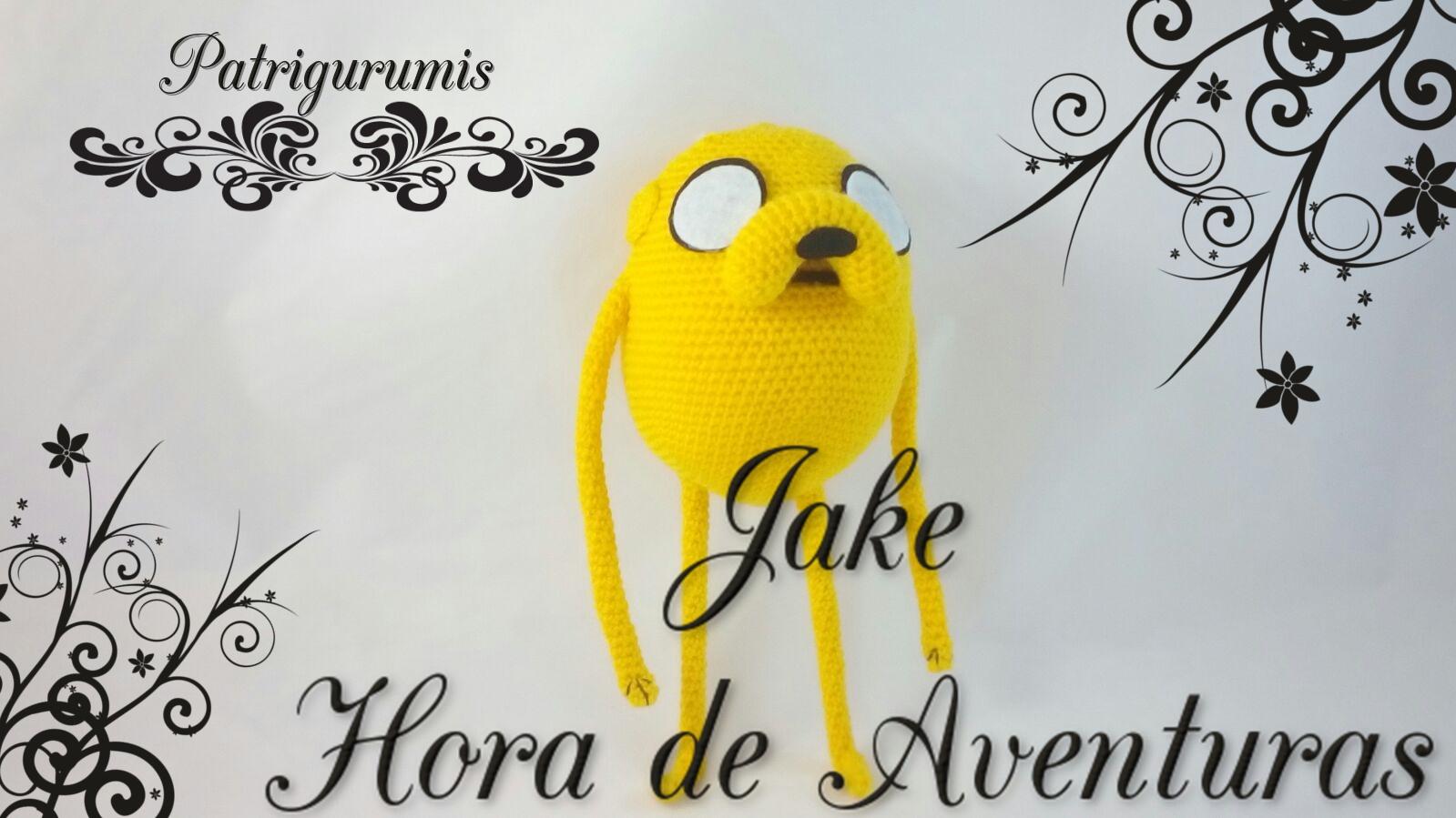 Patrón amigurumi de Jake de Hora de Aventuras ... | 899x1599