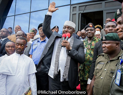 Imo State Governor, Rochas Okorocha grants Amnesty to repentant ex-militants