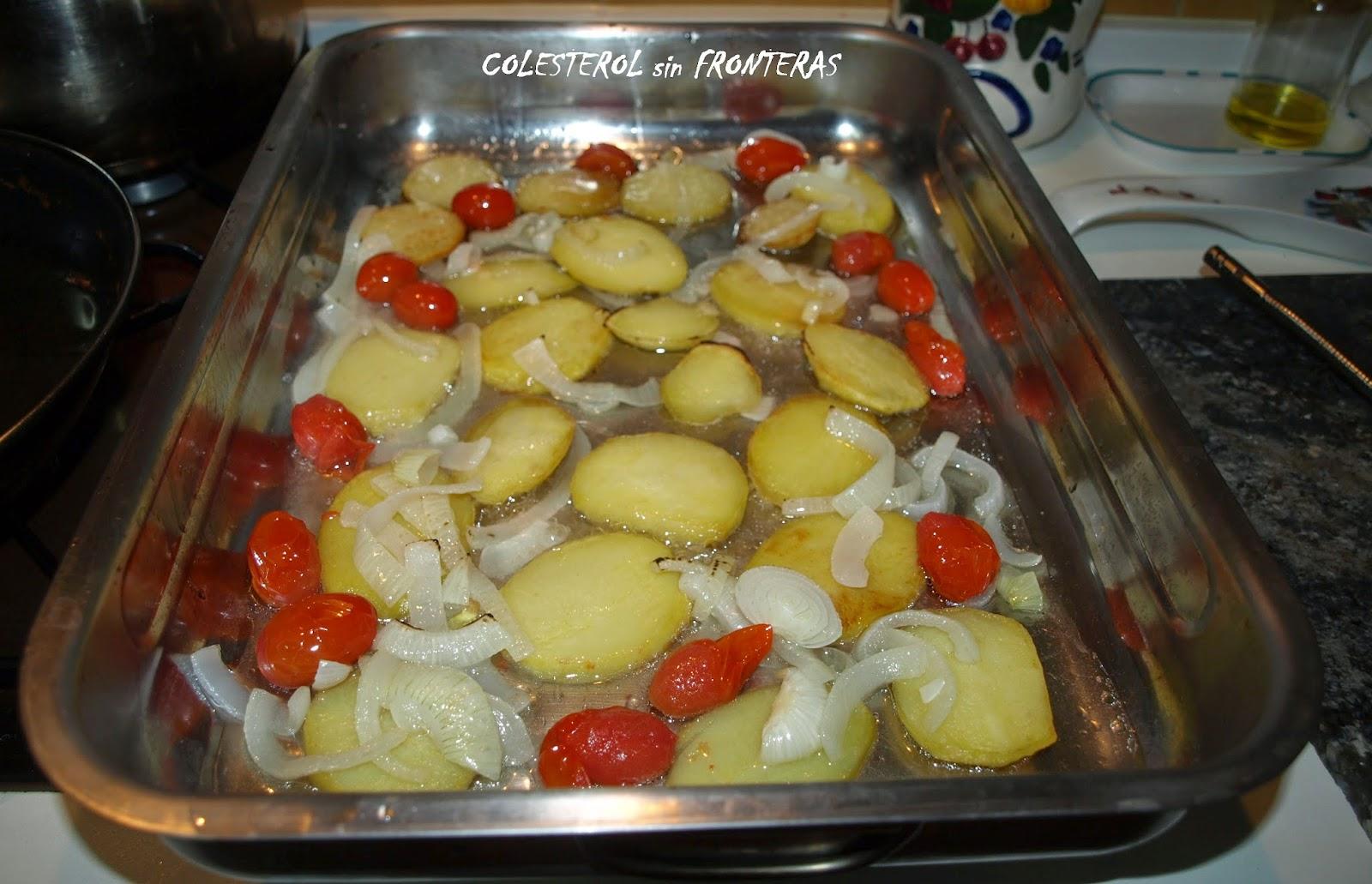 Colesterol sin fronteras rodaballo al horno - Como preparar rodaballo al horno ...