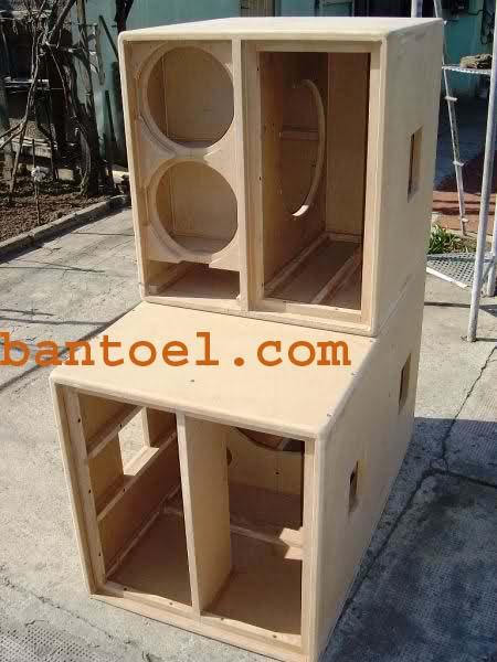 Desain box speaker planar 18 inch terbaru