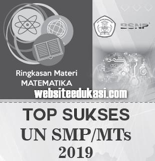 Ringkasan Materi UN SMP/MTs Tahun 2019