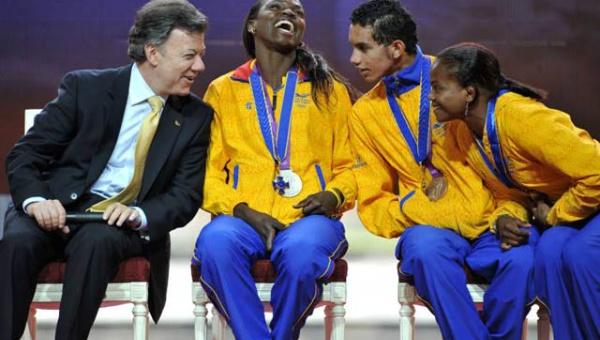 Gobierno colombiano no cumple con las promesas a sus atletas