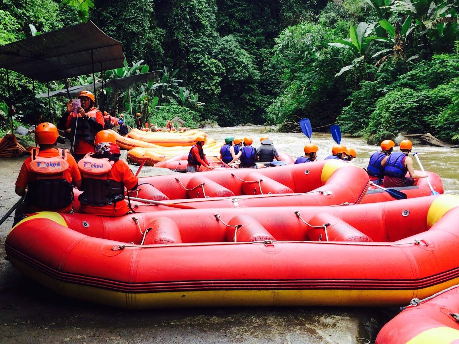 Irfans Room 2016 Tiket Rafting Sungai Ayung Bali Ter Short Menyusuri Di Ubud