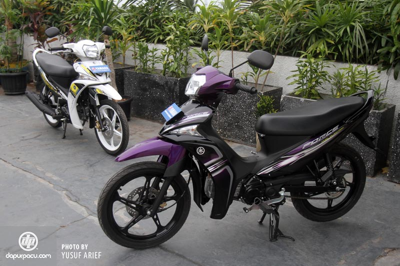 RedCasey Personal Blog's: YAMAHA FORCE 115 FI 2013 : Vega