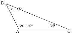 Sudut-sudut segitiga