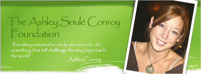 Ashley Soule Conroy Foundation Scholarship