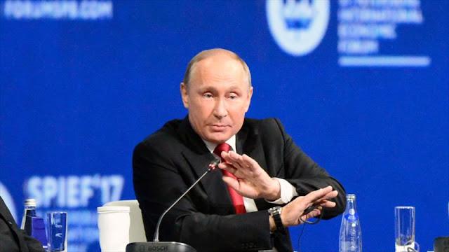 Putin se abstiene de criticar a Trump por el Acuerdo de París