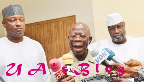 APC Defectors In NASS Don't Have Electoral Value - Oshiomhole Says, As APC Reacts In Statement