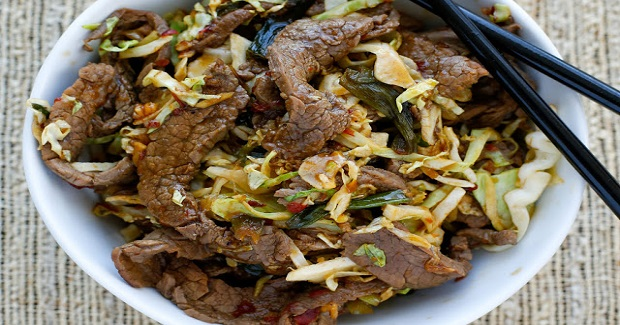 Mongolian Beef With Noodles Recipe