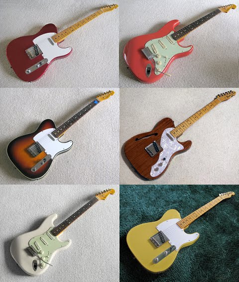 The Fender MIJ Guitars - Circa 1990 (with prices) | Planet Botch