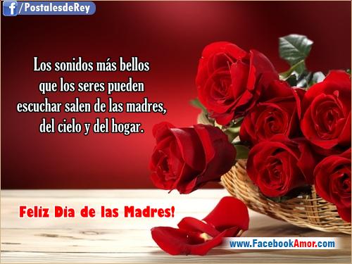 Imágenes Día De La Madre Para Whatsapp Y Facebook: Tarjetas Para Dia De Las Madres