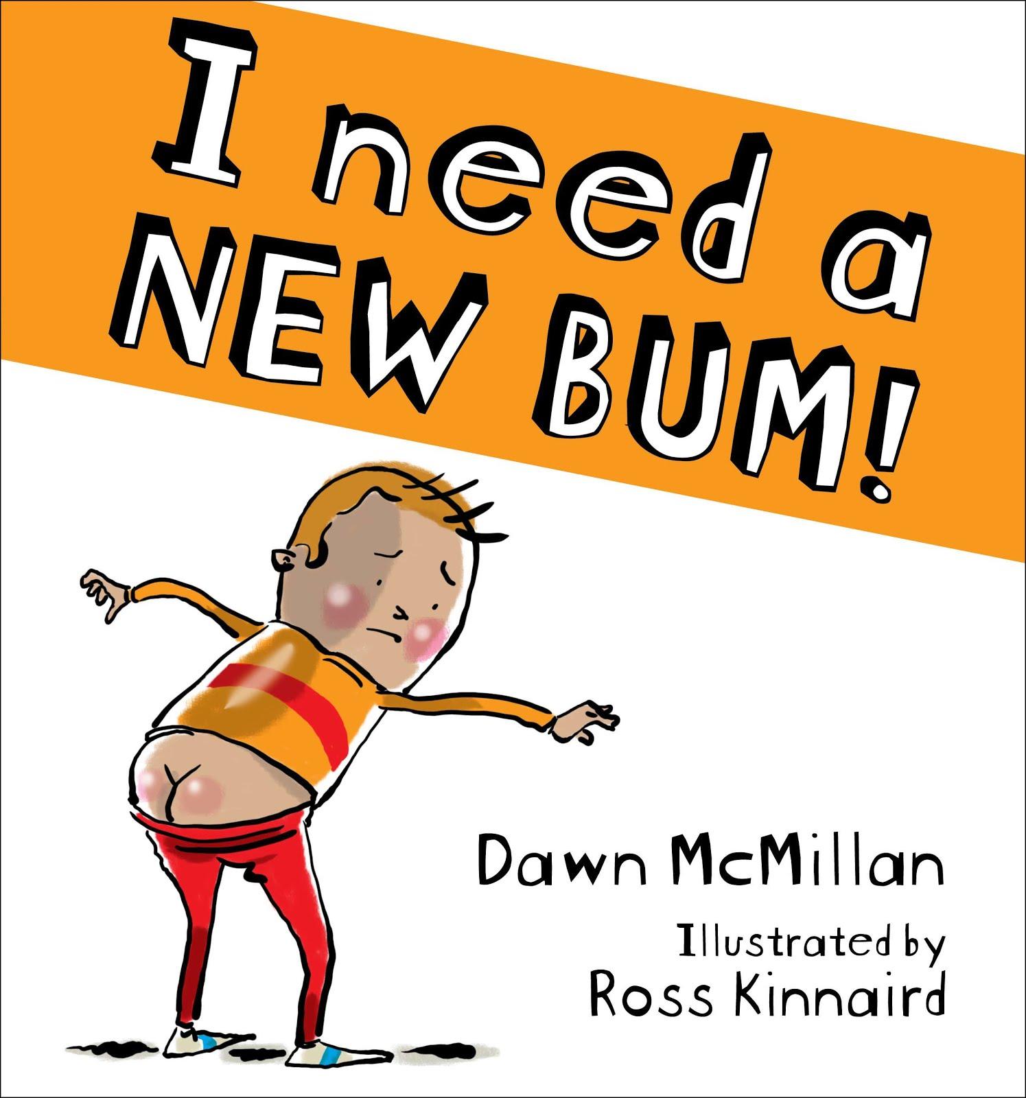Oratia: Scottish Granny's reading of I Need a New BumI