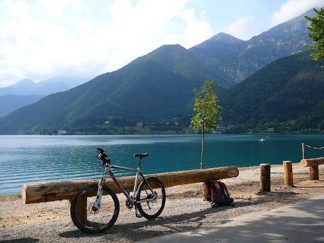 Percorso Mountain bike attorno al Lago di Ledro