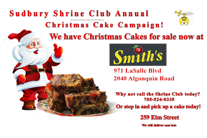 Sudbury Christmas Cakes