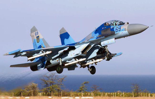 Sukhoi Su-27UB Ukraina