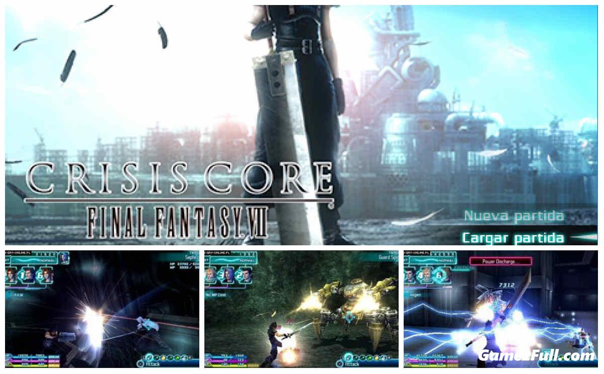 Capturas Crisis Core Final Fantasy VII PSP Español