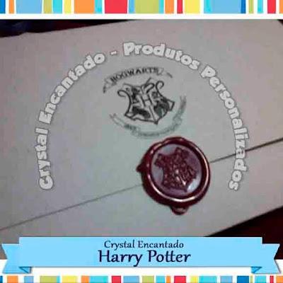 Convite Harry Potter