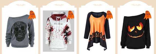 Propozycje na Halloween - Rosegal