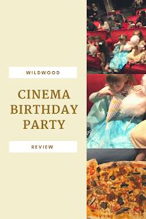 Wildwood Cinema Birthday Party Review