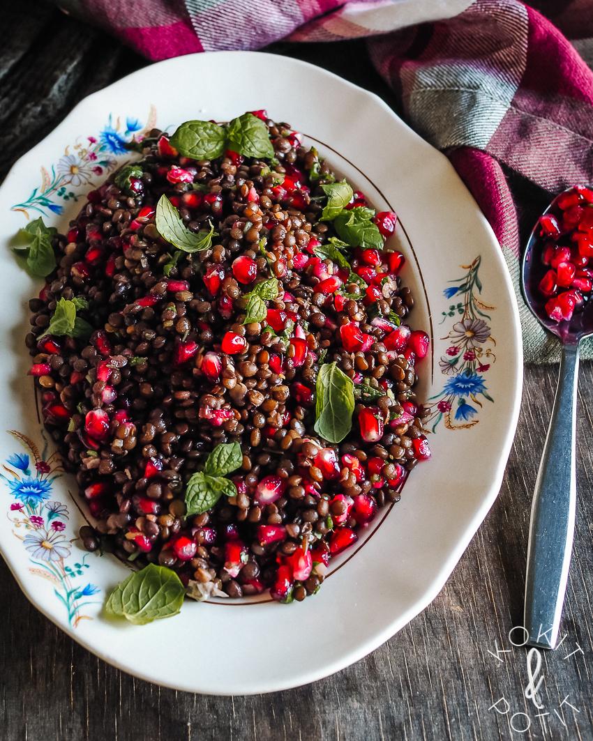 Mausteinen linssisalaatti