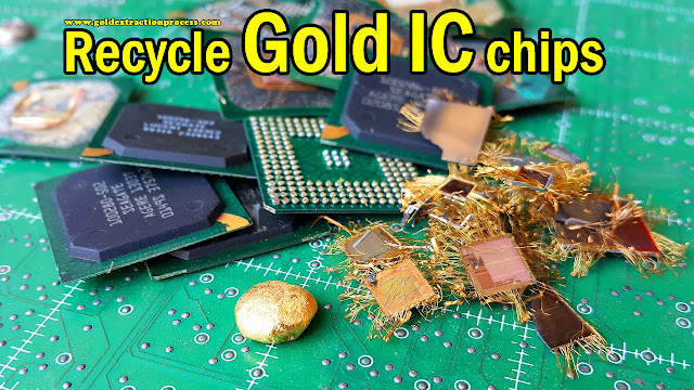 Uses For Gold Electronic : Gold extraction process