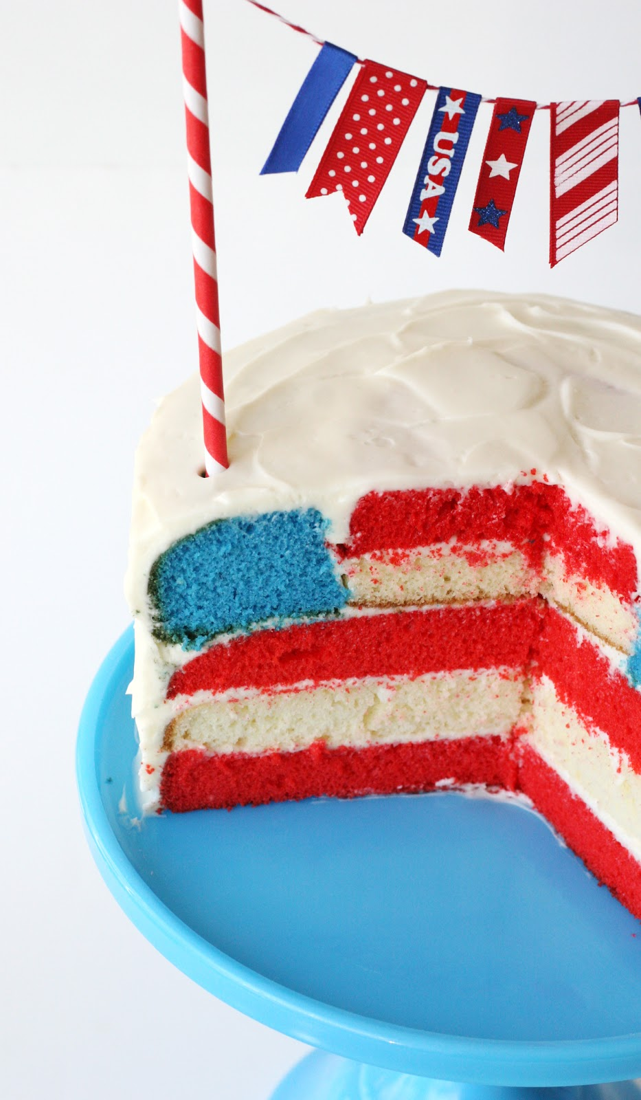 4th Of July Flag Cake Glorious Treats