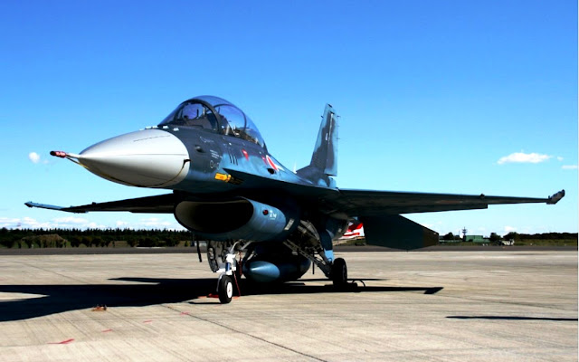 pesawat tempur jepang Mitsubishi F-2