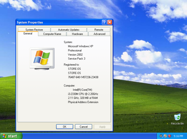 direct x for windows xp