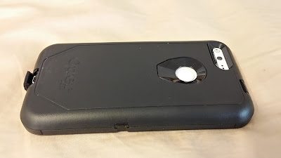 Otter Box Defender Pixel XL case - the USB-C Flap Sticks out a Bit