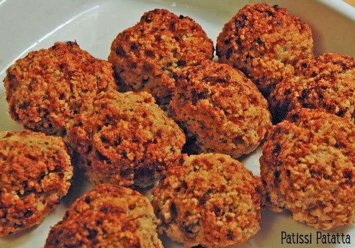 recette de boulettes à la sauge et oignons, sage and onion balls, accompagnement à la sauge