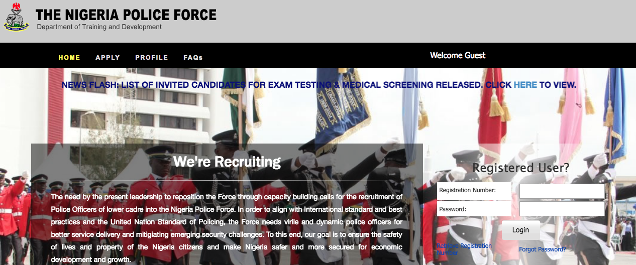 NPF Recruitment Portal