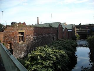 River Medlock off St Andrews St