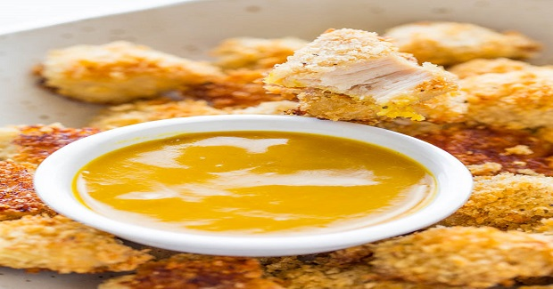 Baked Chicken Nuggets With Honey Mustard Recipe