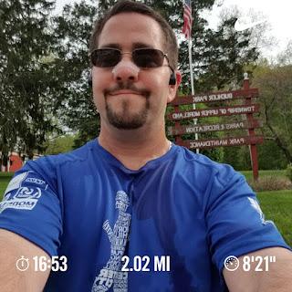 running selfie 050518