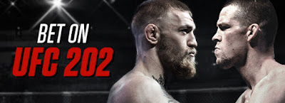 UFC 202 - Diaz vs McGregor - odds and lines