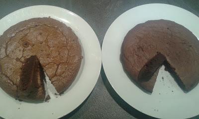 comparatif gâteau chocolat vegan vs habituel
