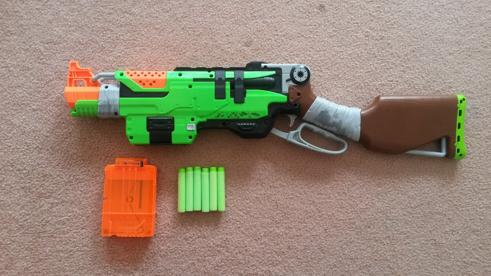 816a0d64c2 How does it stack up to Nerf s other clip (mag) system blasters  As I  bought my Slingfire second hand