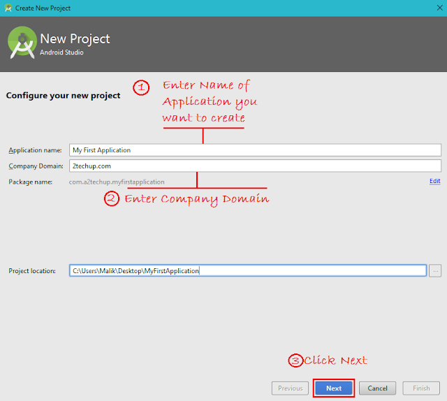 Configure your Project in Android Studio