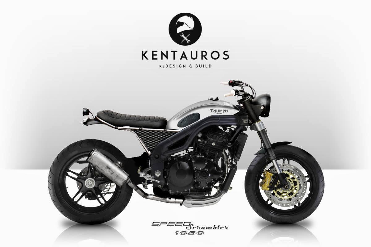 Racing Cafè: Cafè Racer Concepts  Kentauros