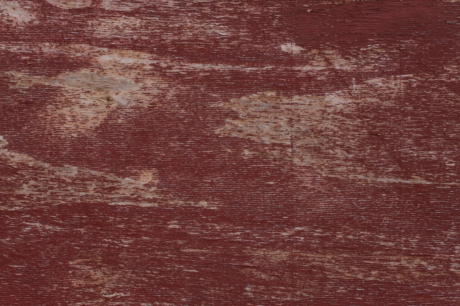 Red Paint Wood Texture September 2017