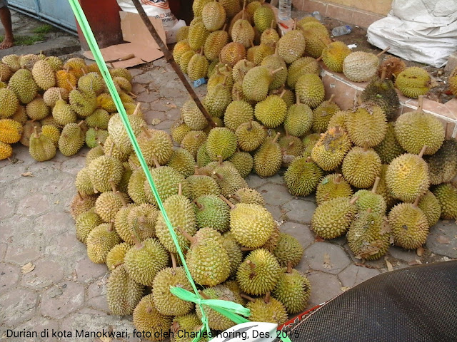 Fruit season in Manokwari of West Papua