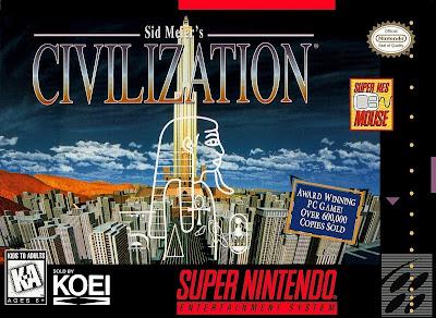 Rom de Civilization - SNES em PT-BR - Download