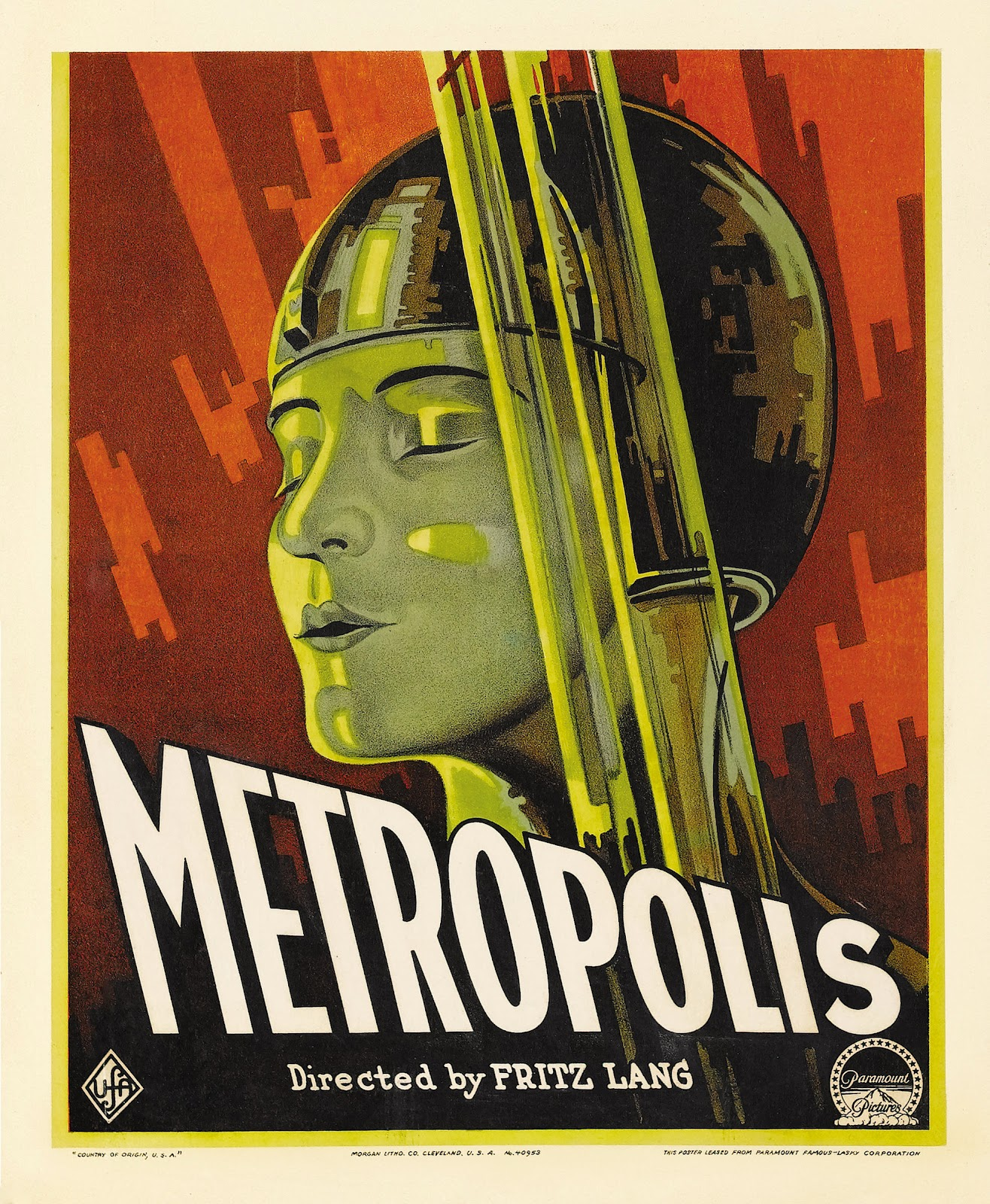 The geeky nerfherder movie poster art metropolis 1927 for Schlafsofa 2 m lang