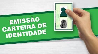 Na Paraíba, agendamento de emissão de carteiras de identidade sofre mudanças