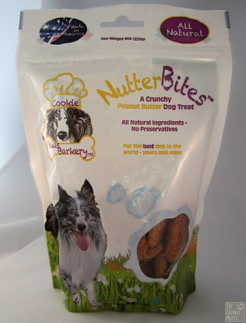 a bag of paws barkery nutterbites peanut butter dog treats