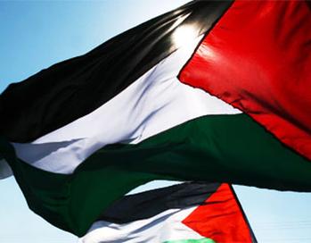 Bandera de Palestina en la ONU