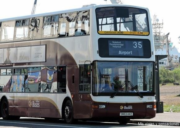 Autobús urbano, Lothian Buses, Edimburgo