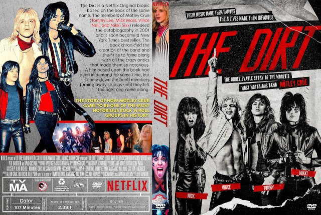 The Dirt DVD Cover