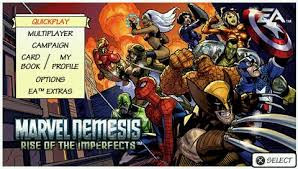 Download Marvel Nemesis: Rise of The Imperfects PSP PPSSPP