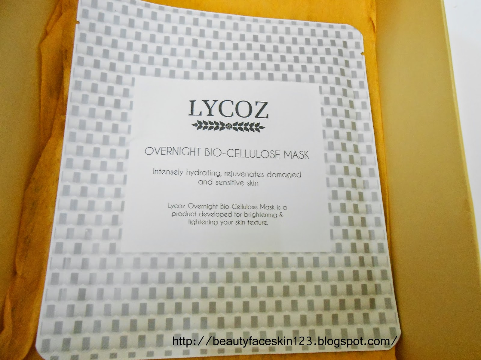 LYCOZ BIO CELLULOSE MASK